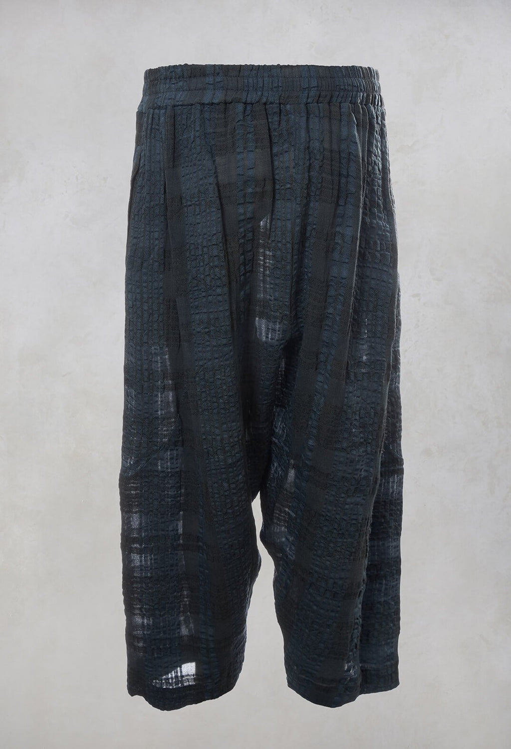 Peg Trousers in Blue