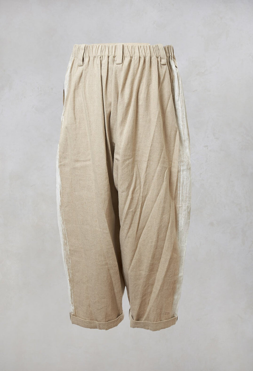 Peg Trousers in Natural