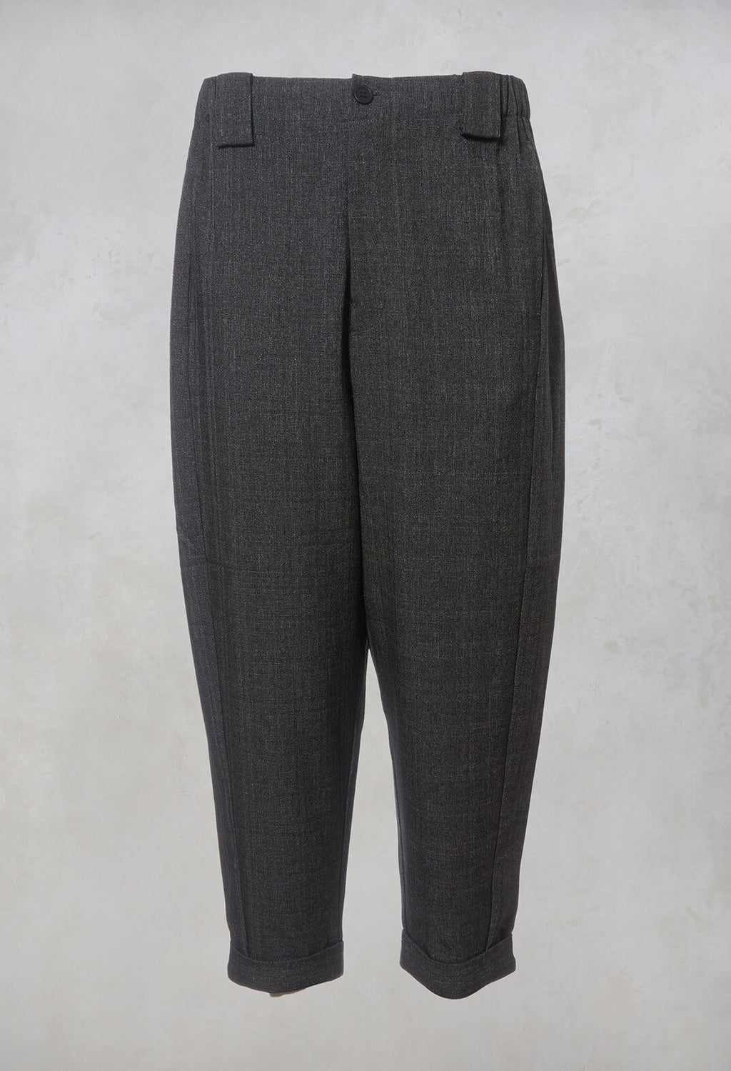 Pegged Trousers in Grey