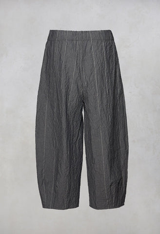 Pino C Peg Trousers in Gessato
