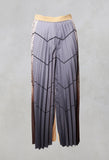 Pleated Trousers in Multicolor