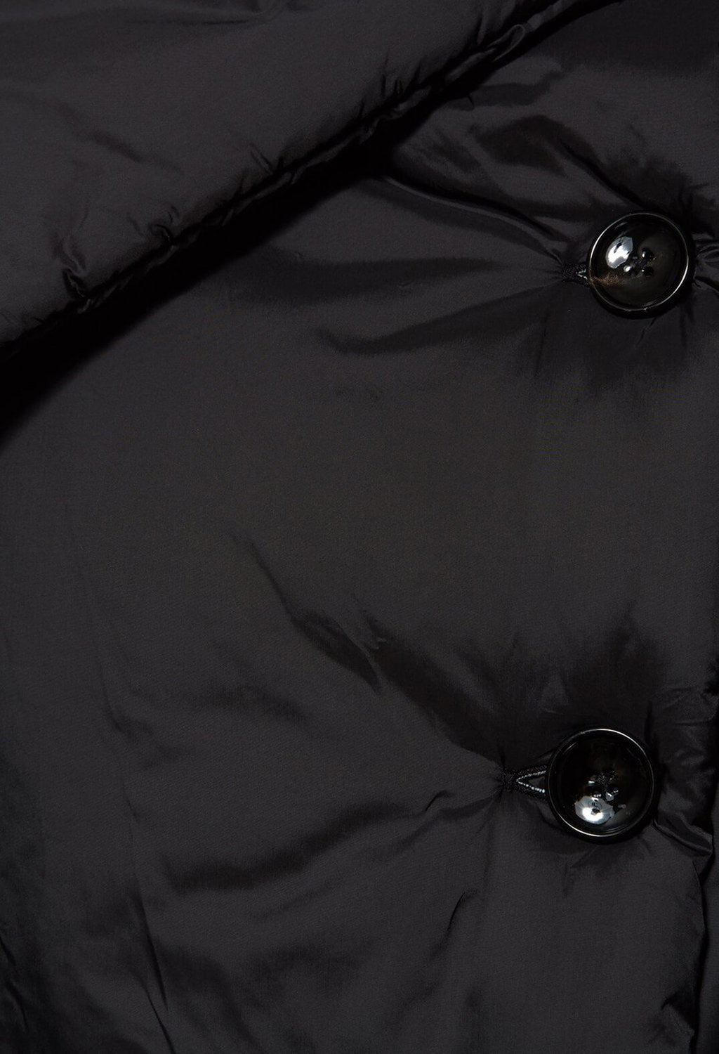 Puffer Jacket in Black