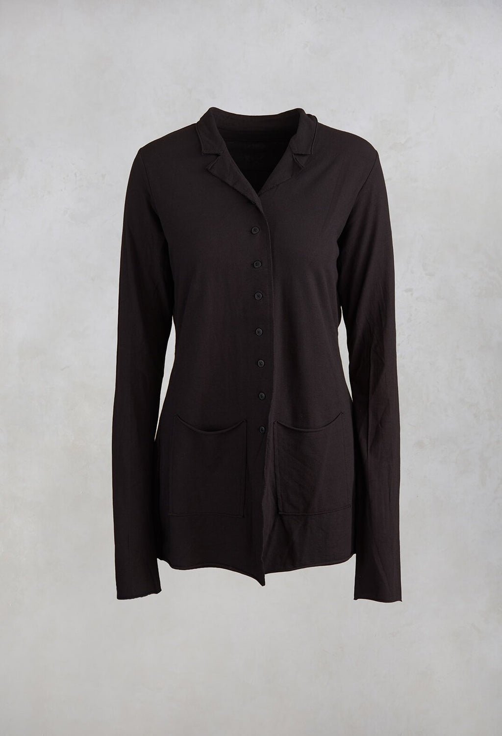 Relaxed Jacket in Black
