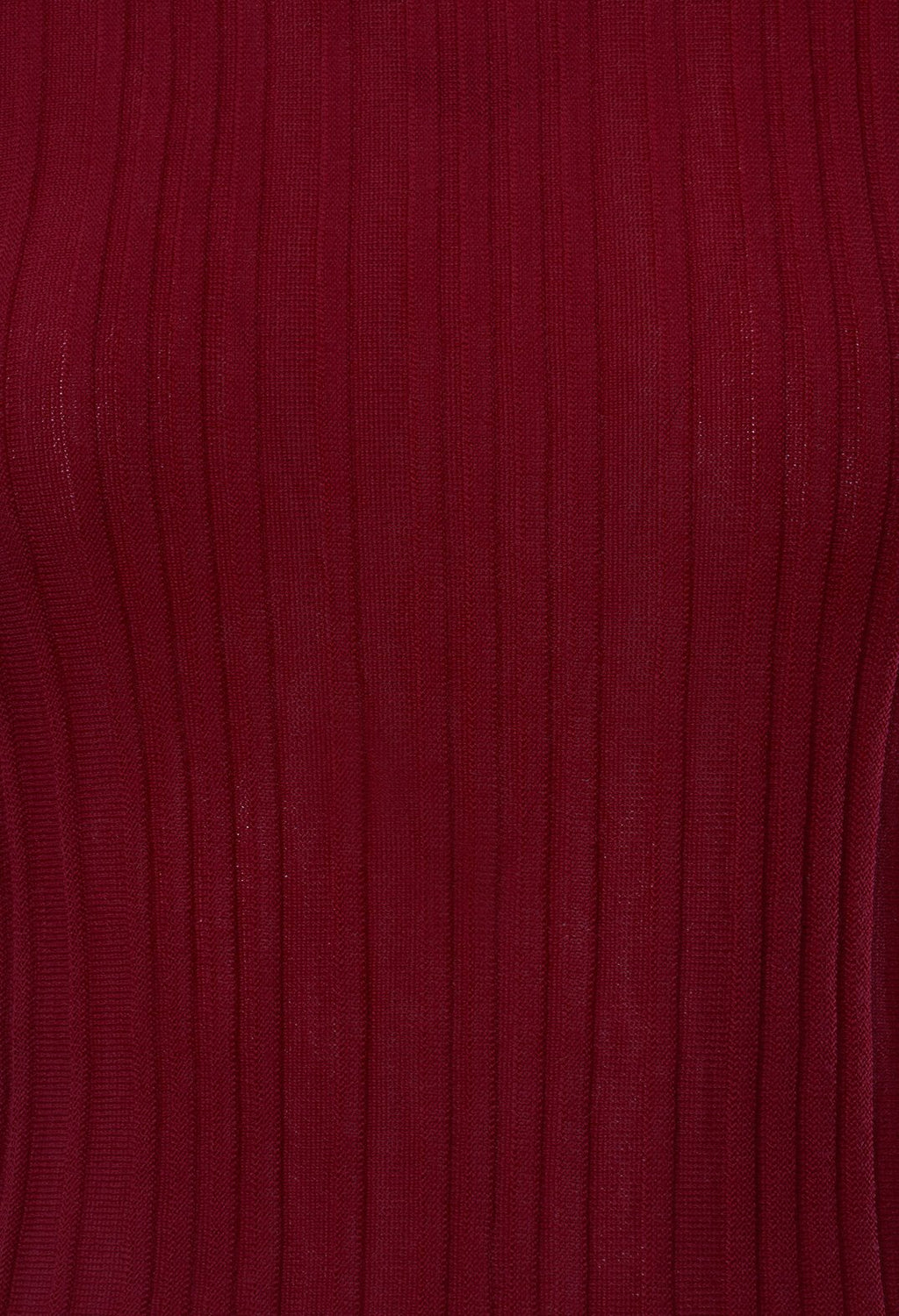 Ribbed Jumper in Fayalite Coral