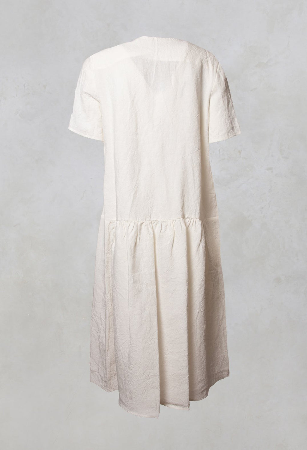 Shirt Dress in Butter