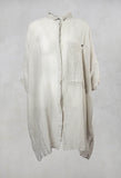 Shirt Dress in Zinc