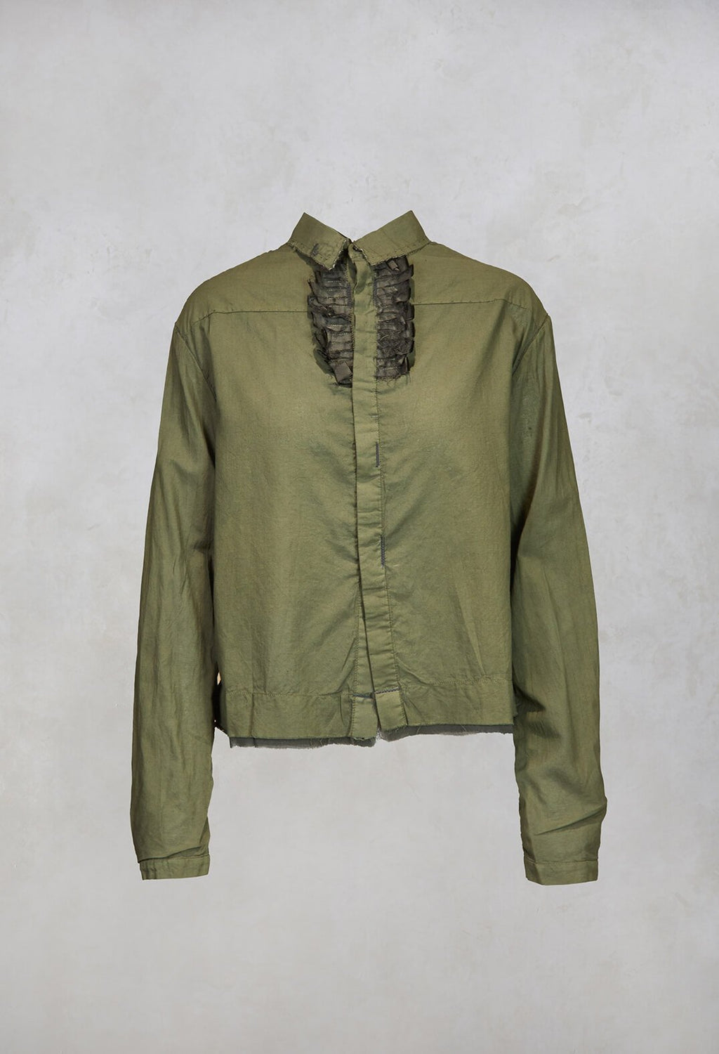 Shirt in Dark Green