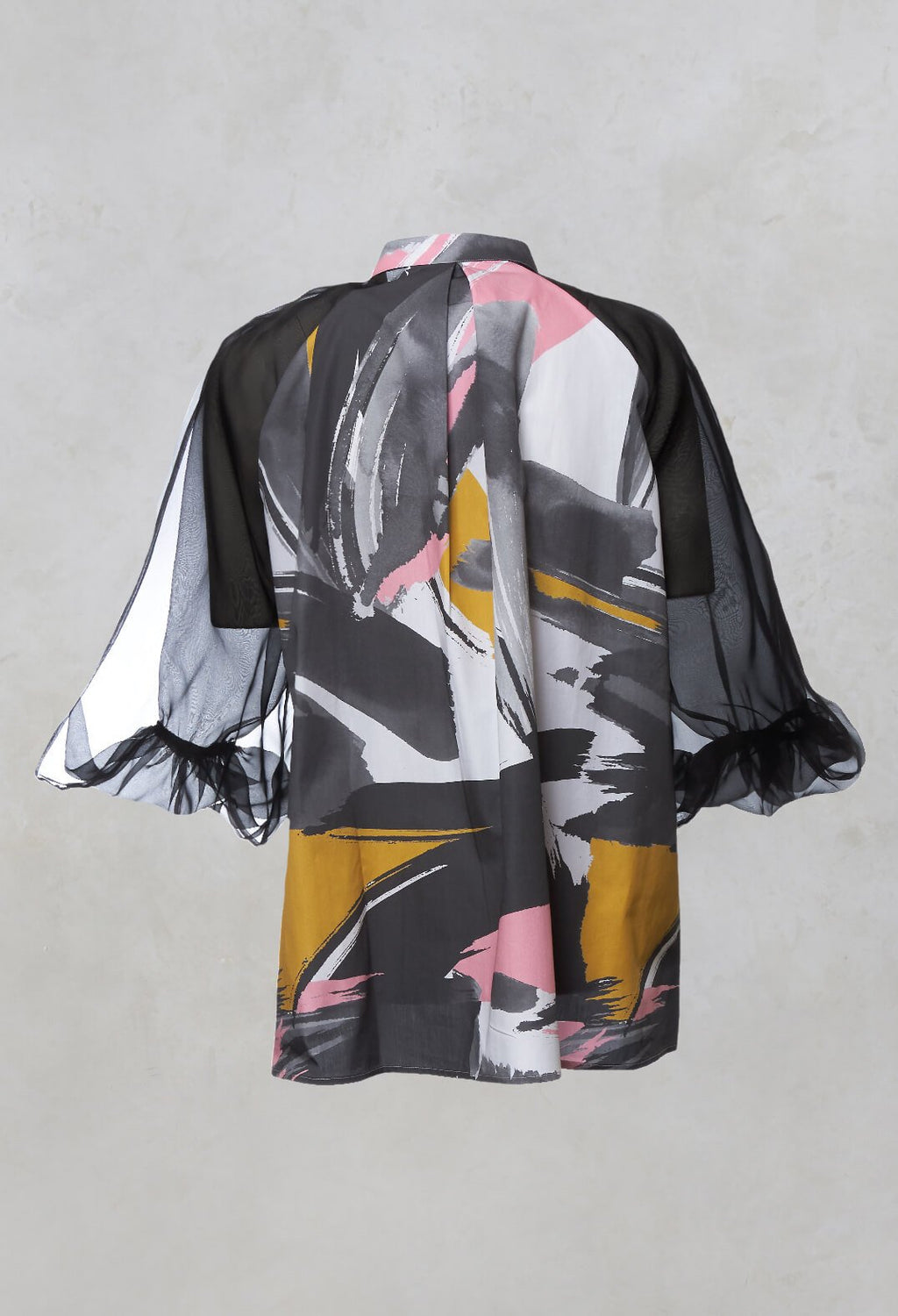Shirt with Puff Sleeves in Mizuki Devotion