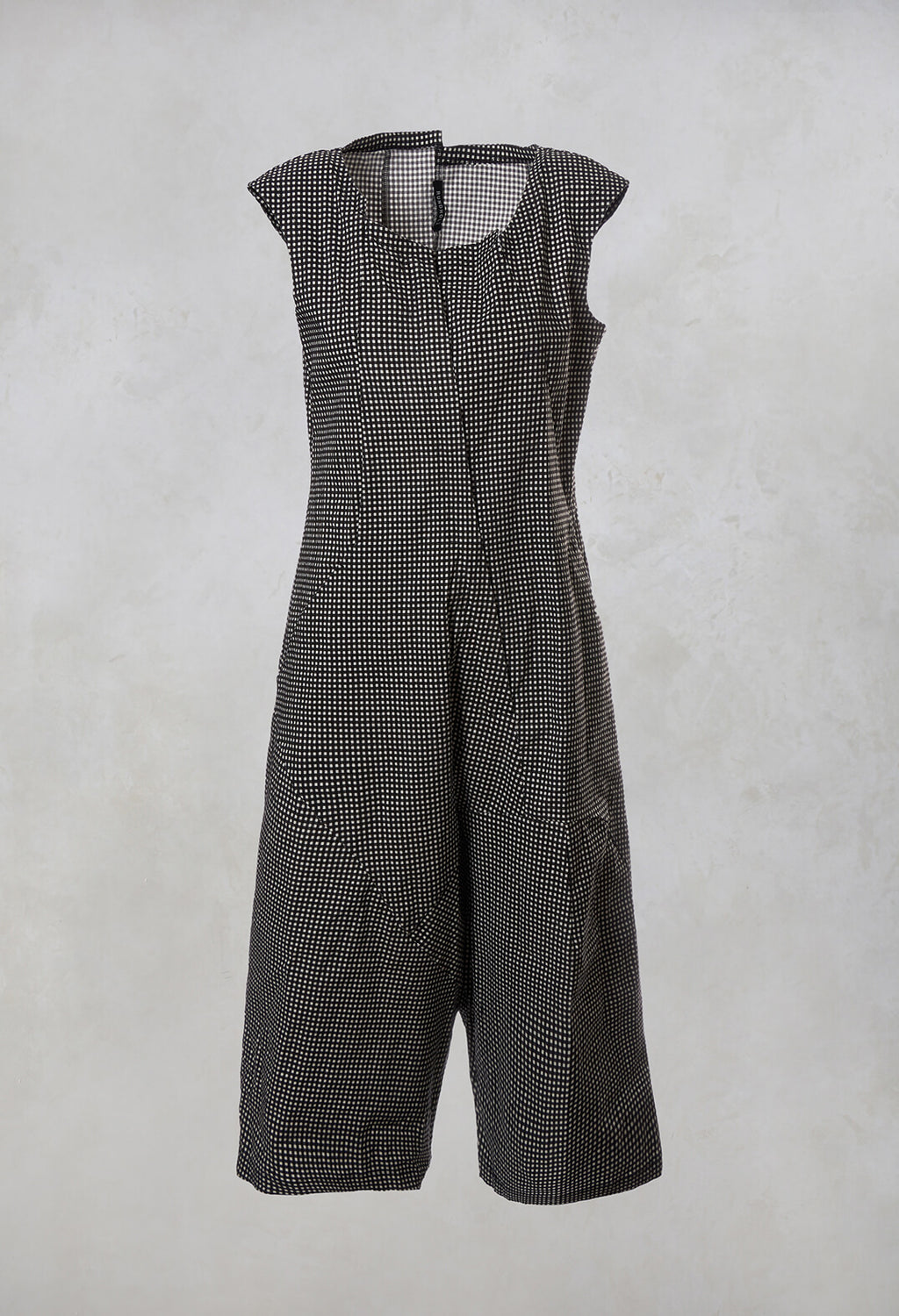 Sleeveless Jumpsuit in Paddy Print