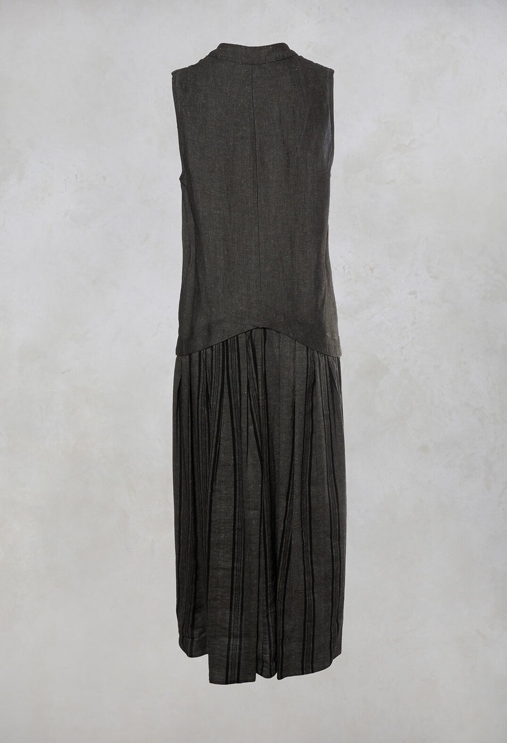 Sleeveless Maxi Dress in Grey