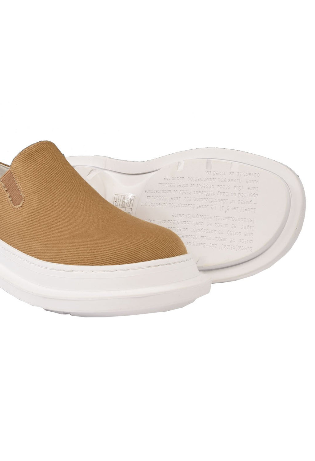 Slip On Pumps in Mango