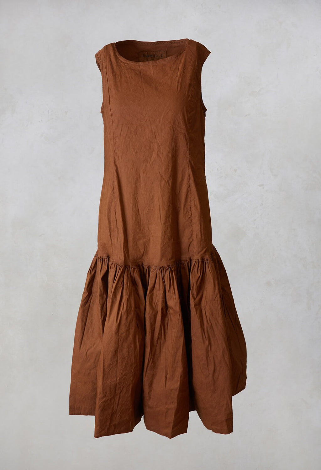 Smock Dress in Clay