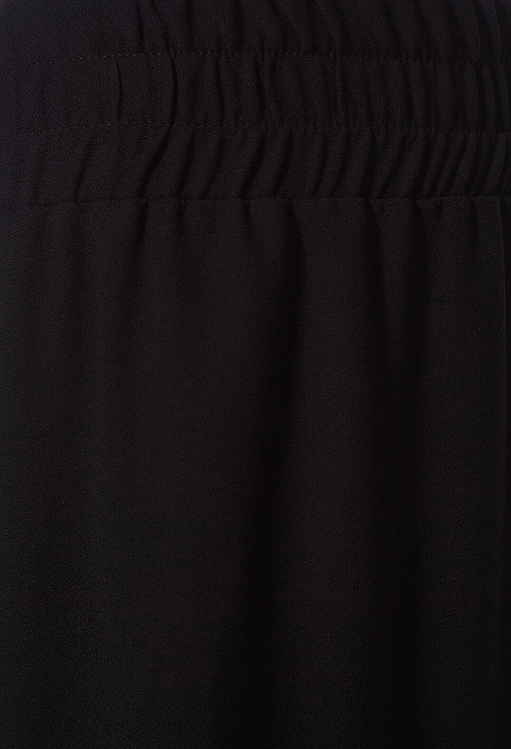Straight Leg Trousers in Black
