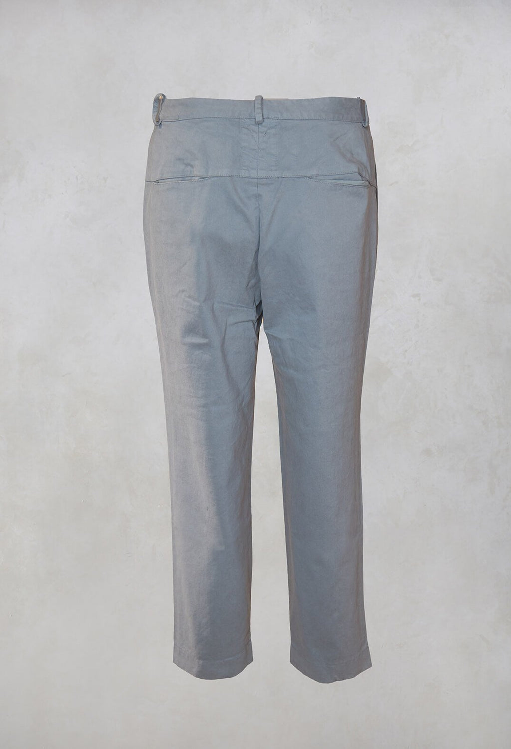 Straight Leg Trousers in Ferro