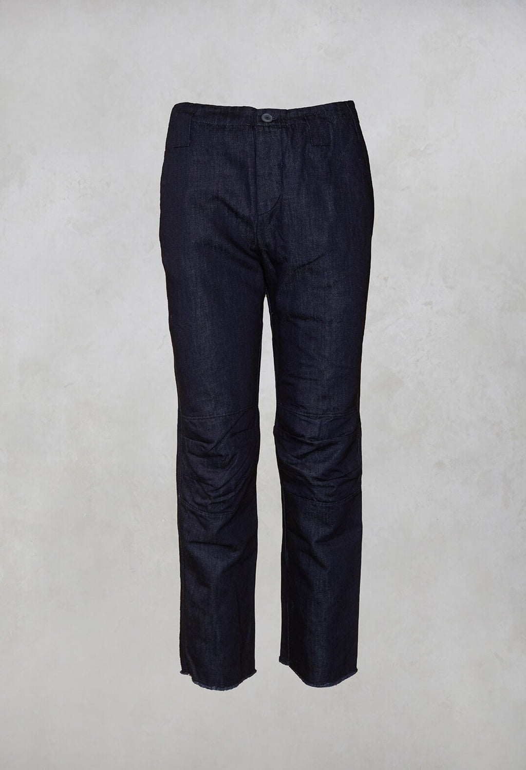 Straight Leg Trousers in Jeans