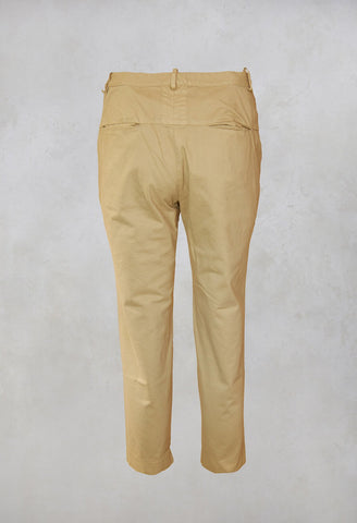 Straight Leg Trousers in Juta