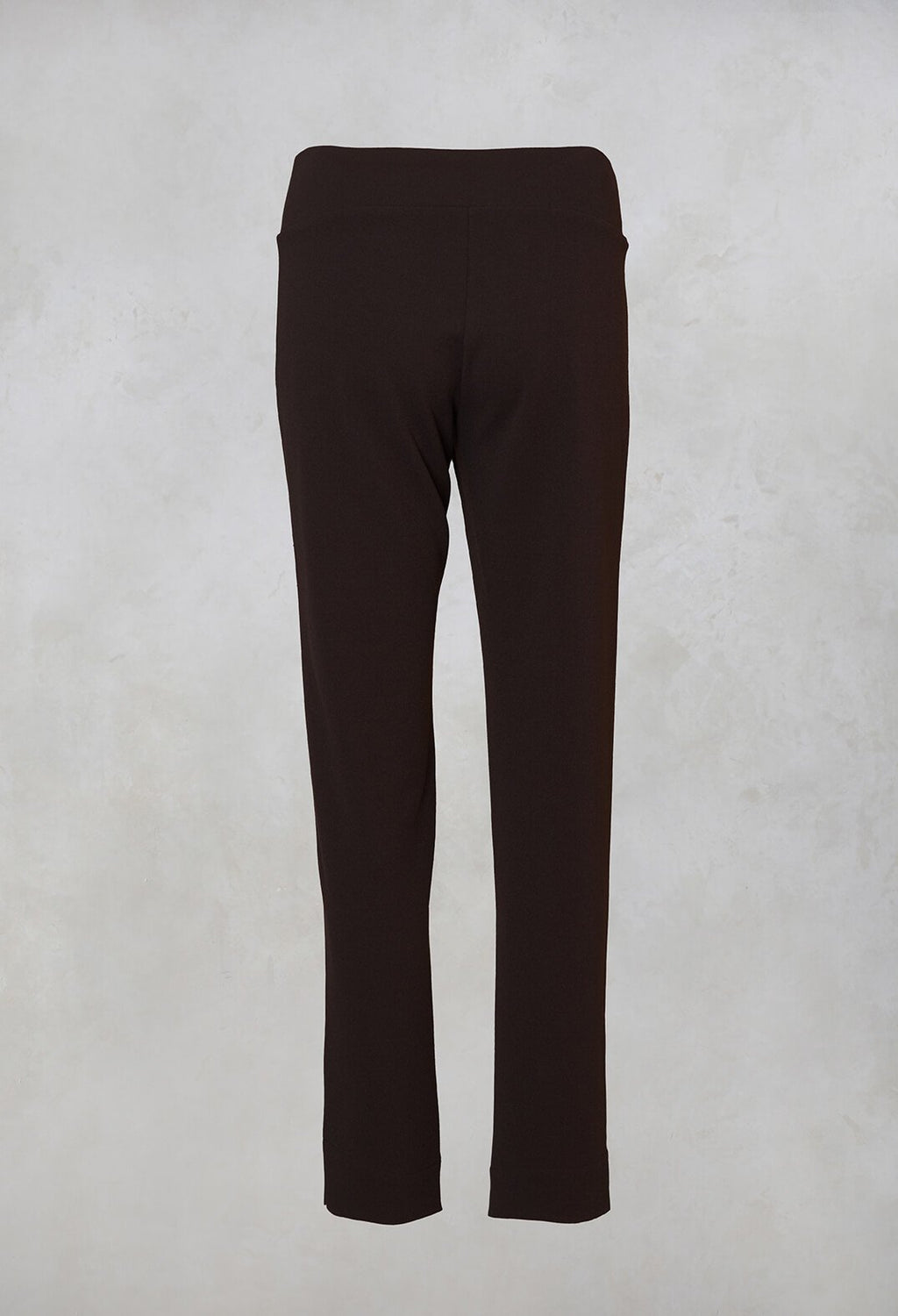 Straight Leg Trousers in Khaki
