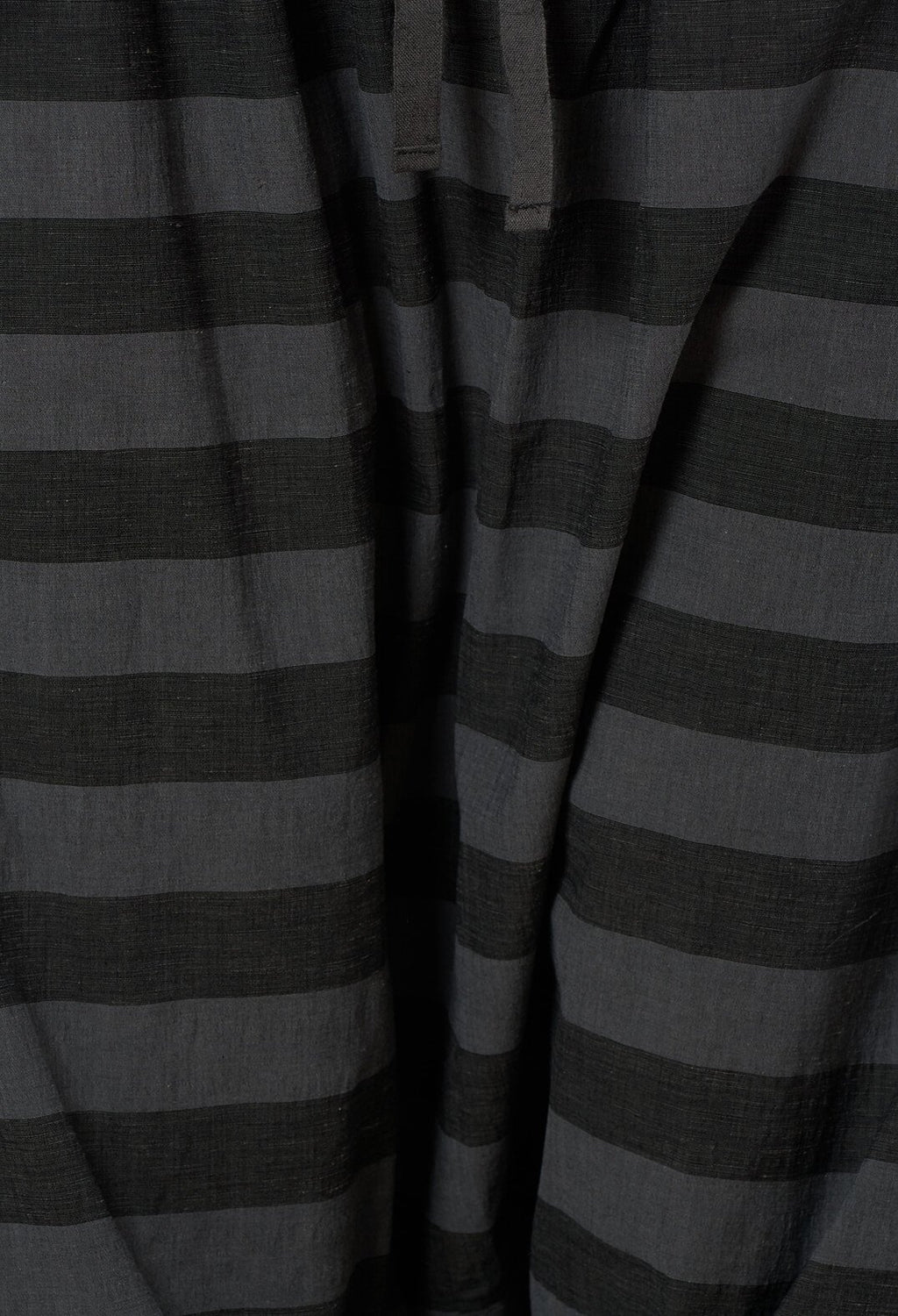 Striped Harem Trousers in Dark Grey