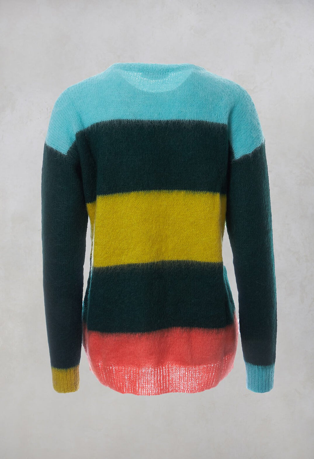 Striped Jumper in Green