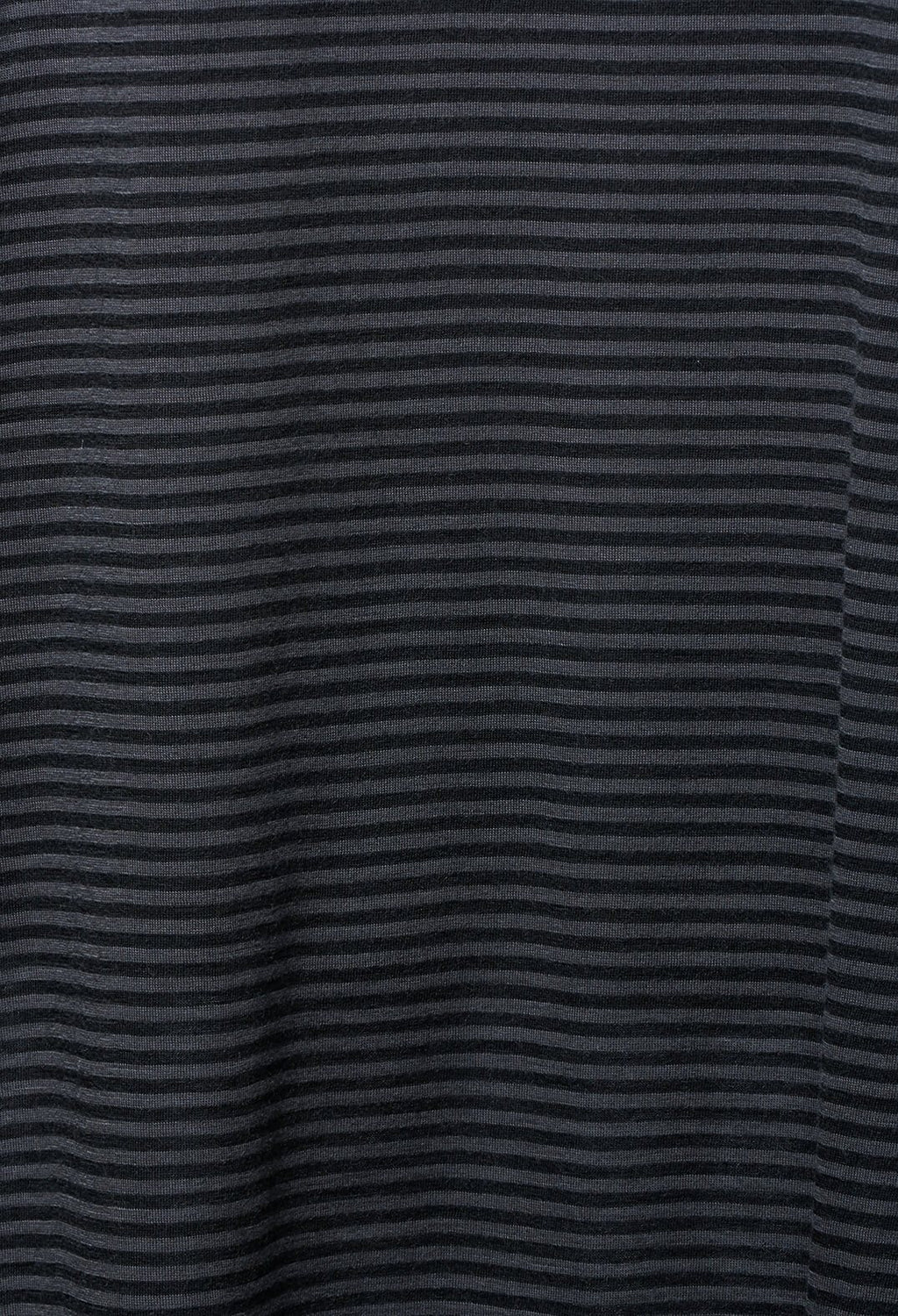 Striped T Shirt Dress in Petroleum Blu Magnesium