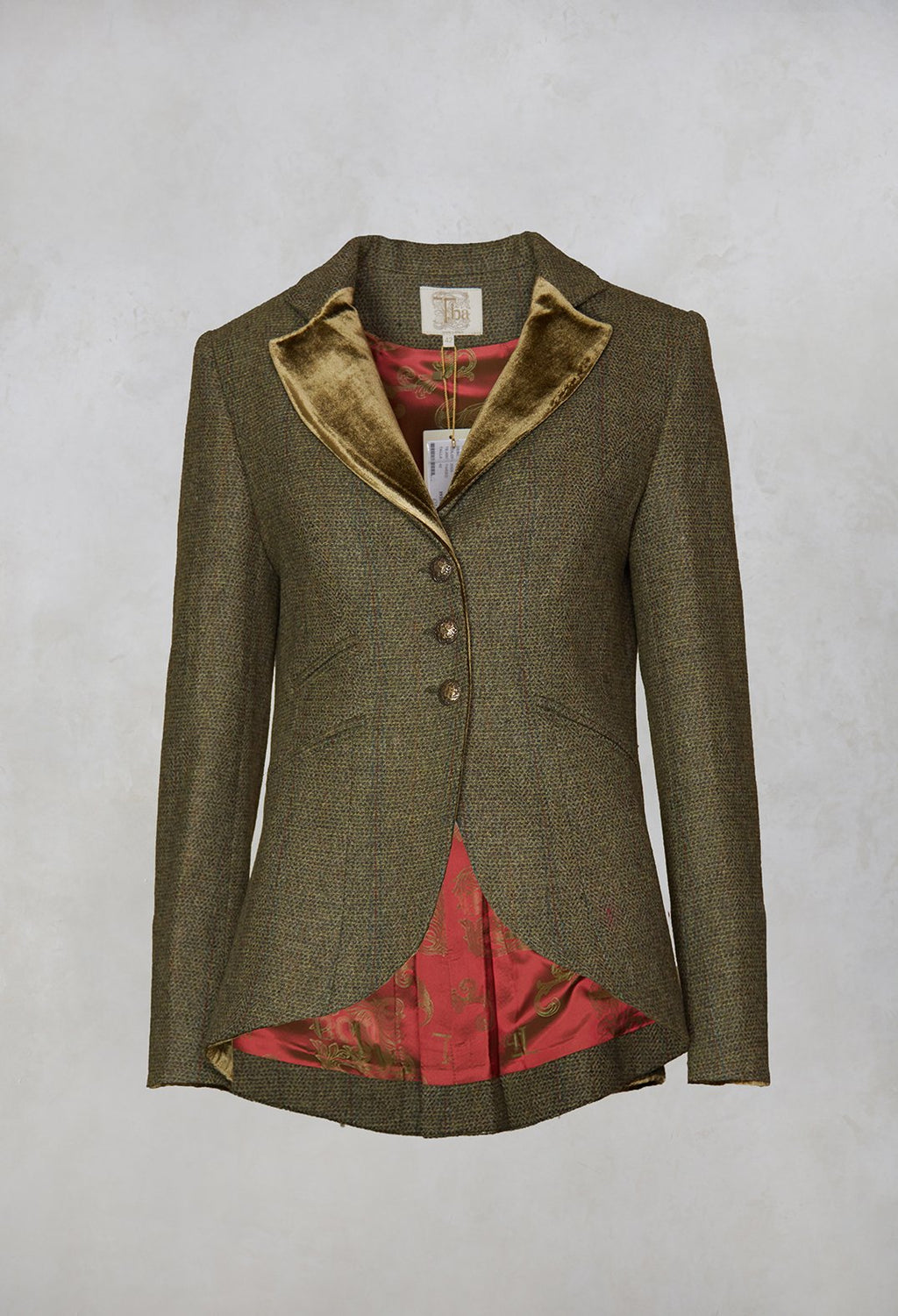 Sullavan Combi Jacket in Tweed