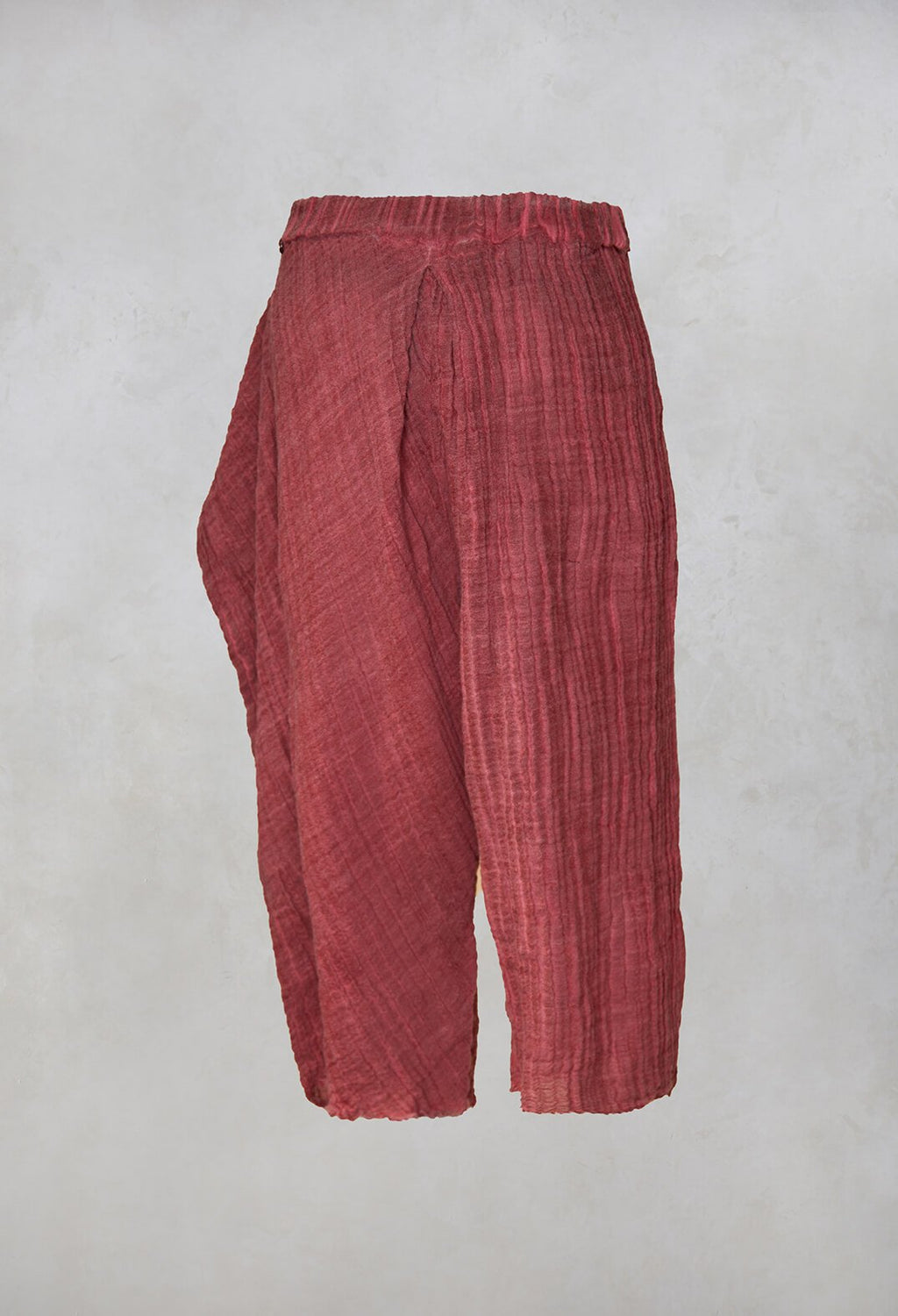 Susy Dyed Trousers in Red
