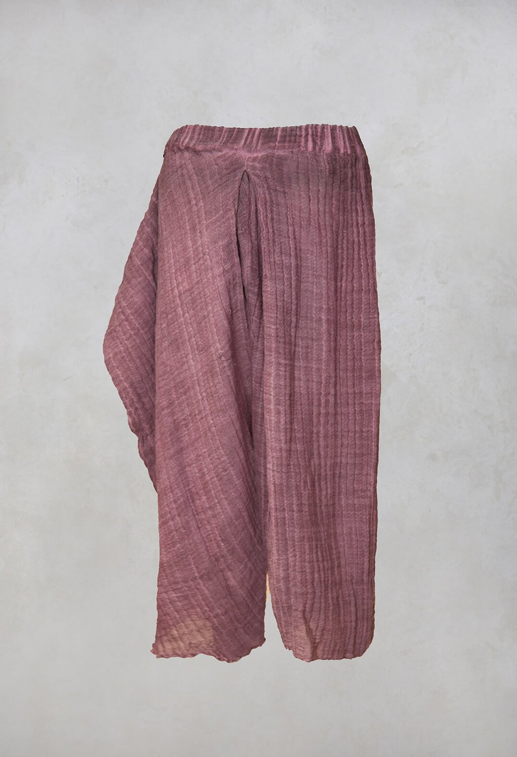 Susy Dyed Trousers in Wine
