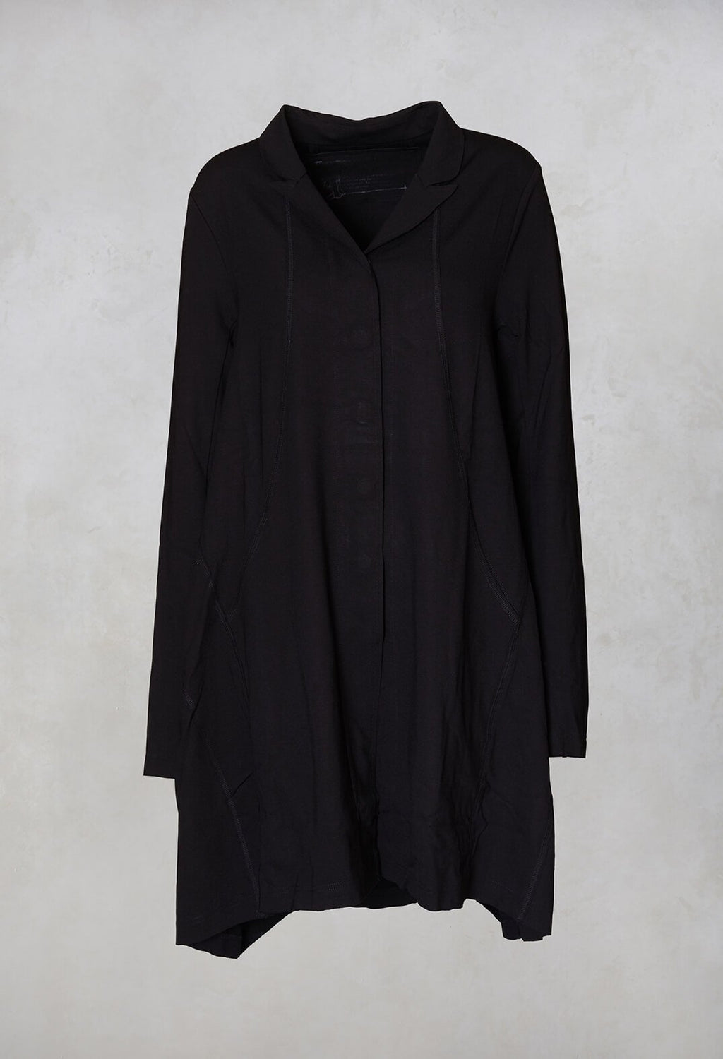 Swing Coat in Black