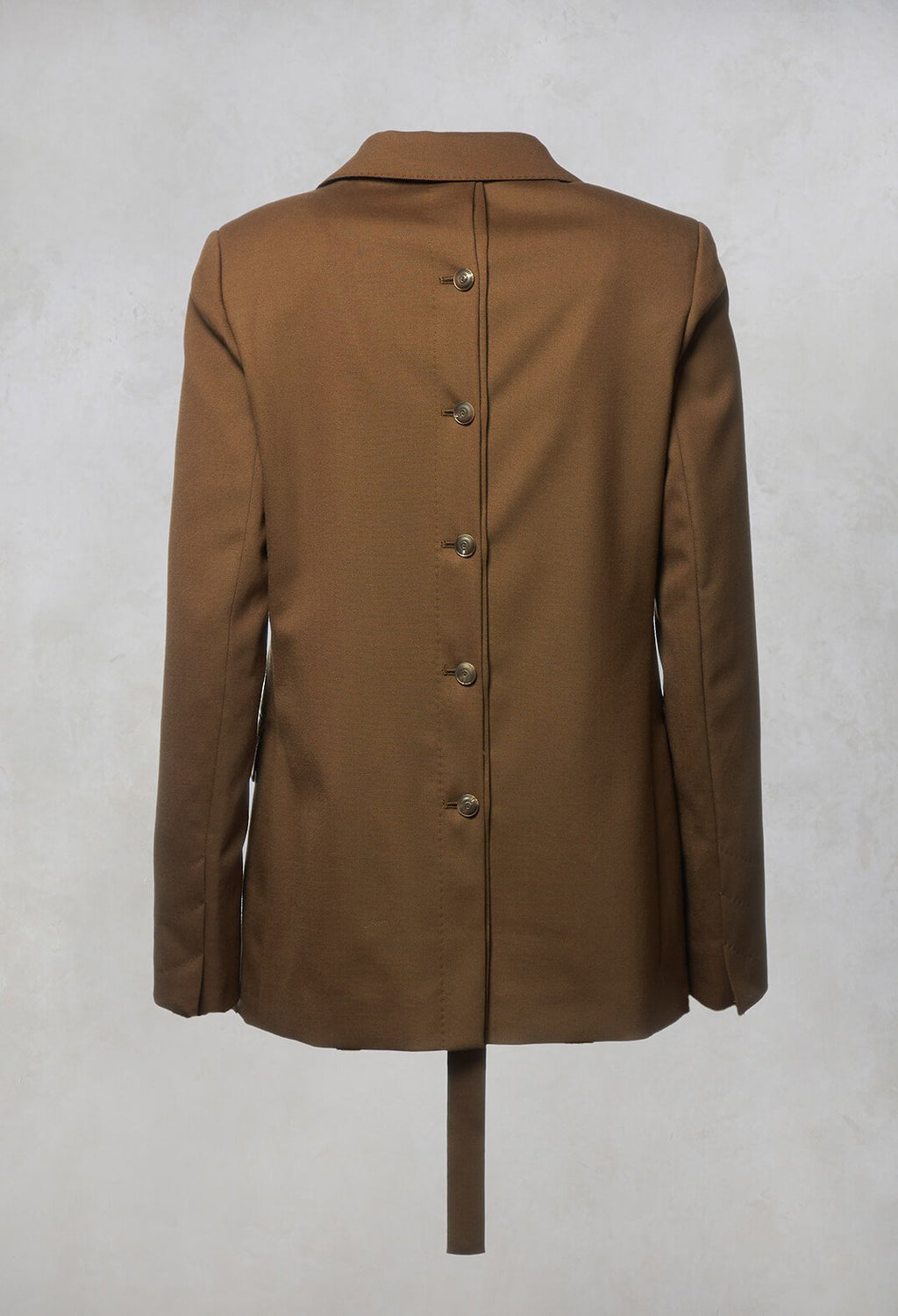 Tailored Blazer in Granato Tobacco