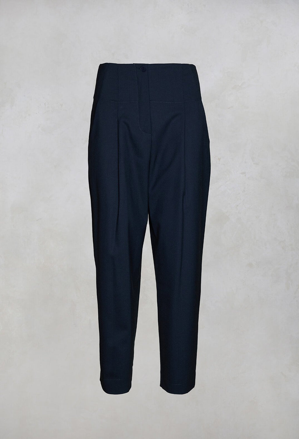 Tailored Trousers in Navy