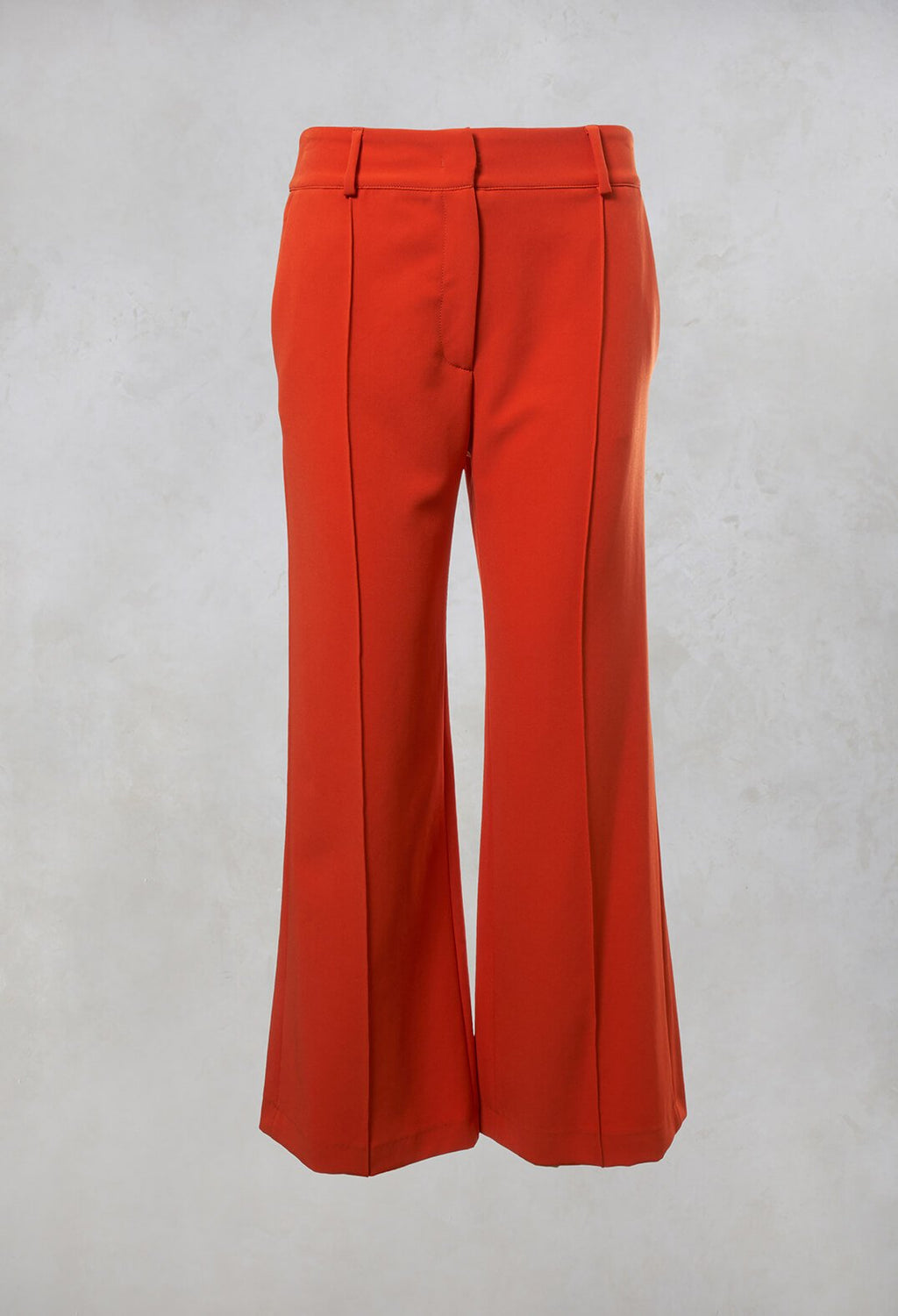 Tailored Trousers in Orange