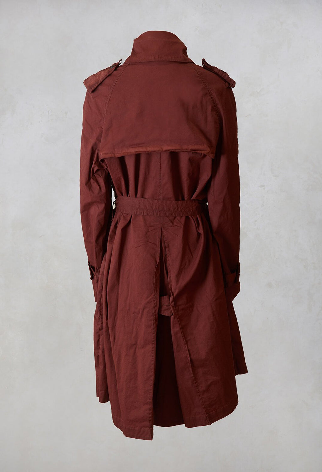 Trench Coat in Maple