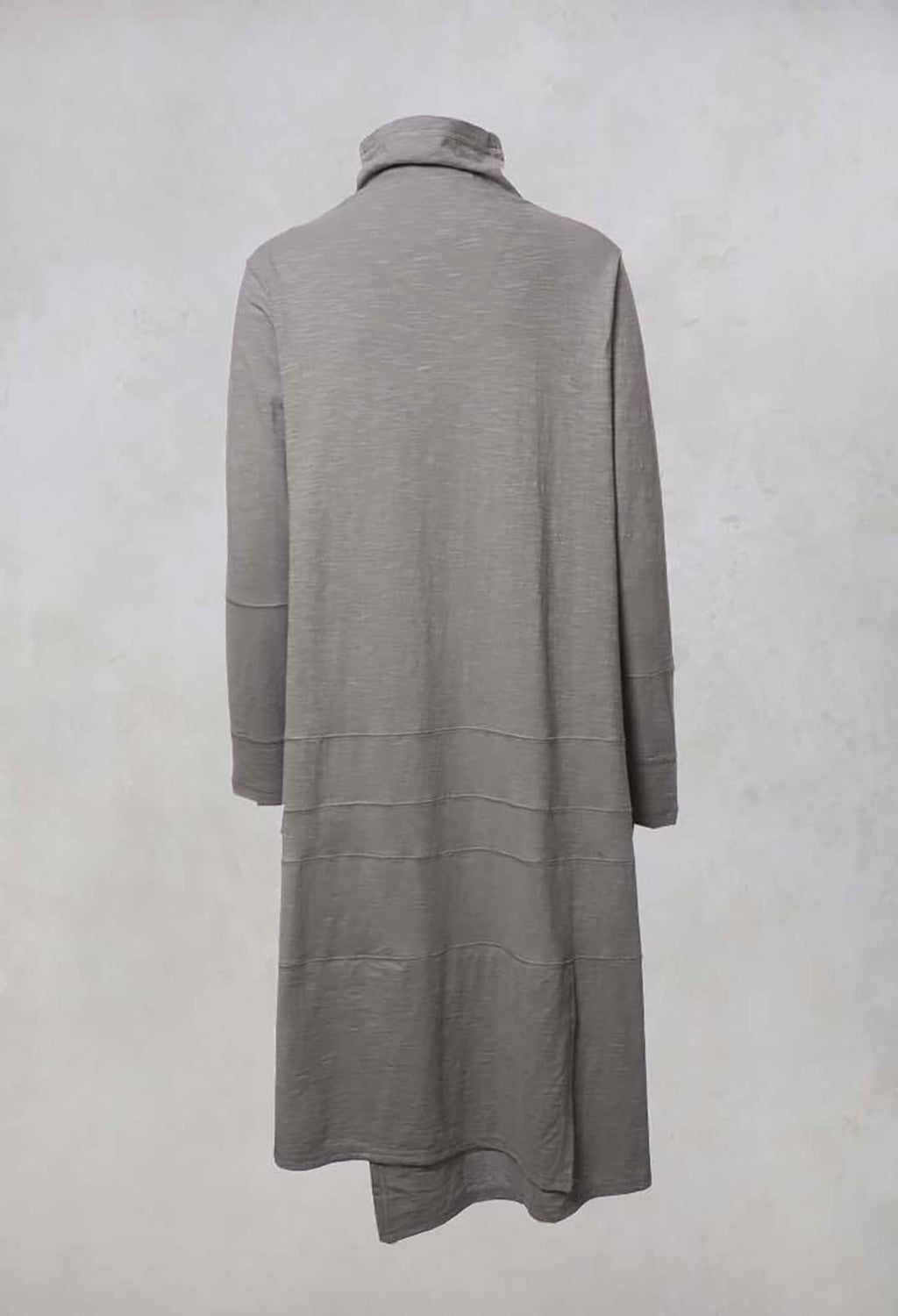 Turtle Neck Dress in Grey