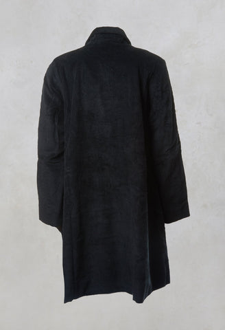 Veste Suzanne Jacket in Velour Noir
