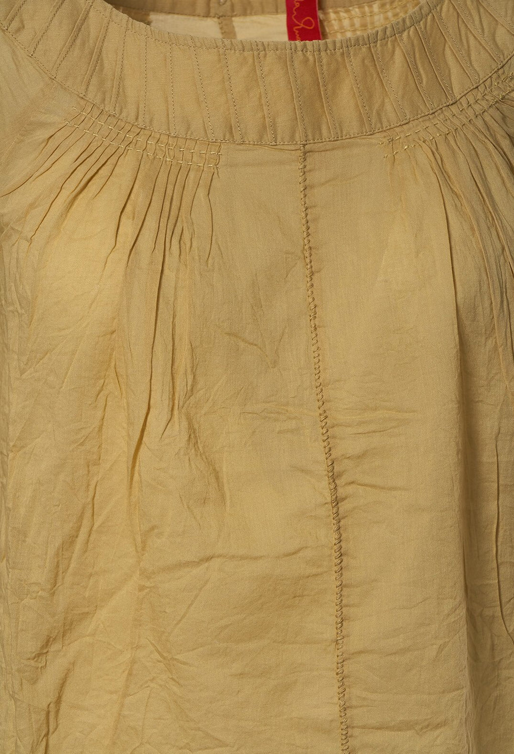 Voile Blouse in Wheat
