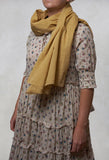 Voile Scarf in Wheat