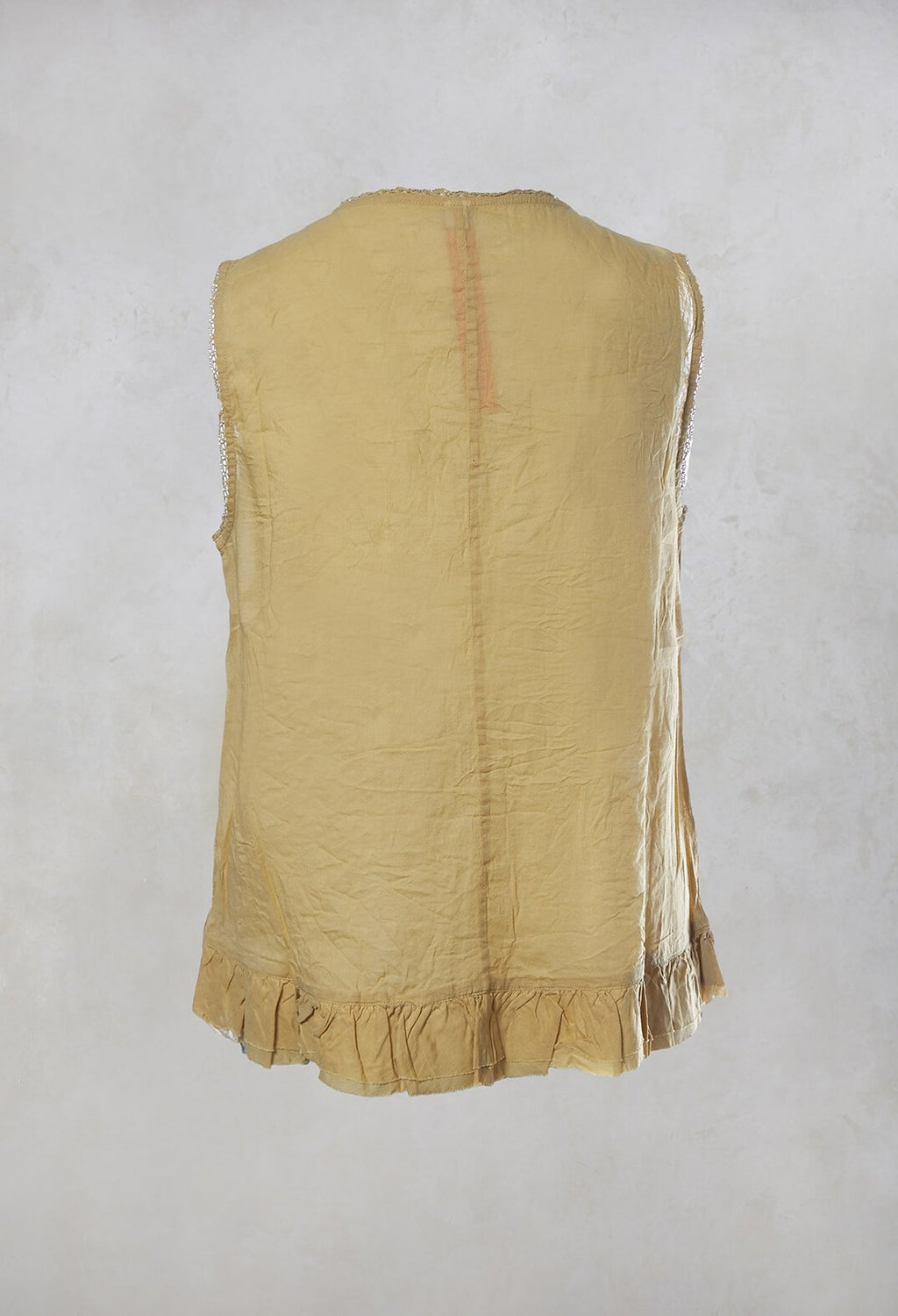 Voile Top in Wheat