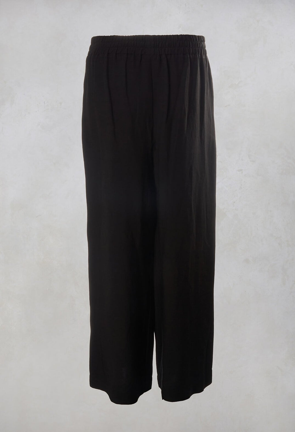 Wide Leg Trousers in Black