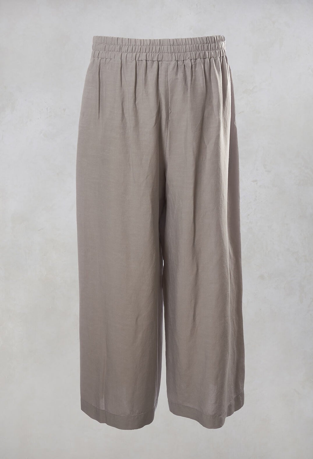 Wide Leg Trousers in Grey