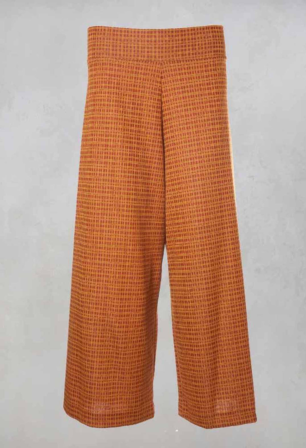 Wide Legged Trousers in Bronzo