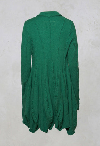 Wool Coat in Green