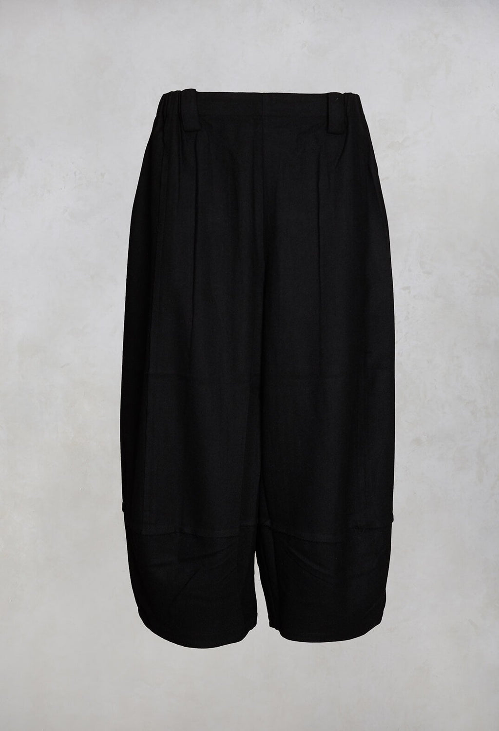 Woolen Culottes in Black