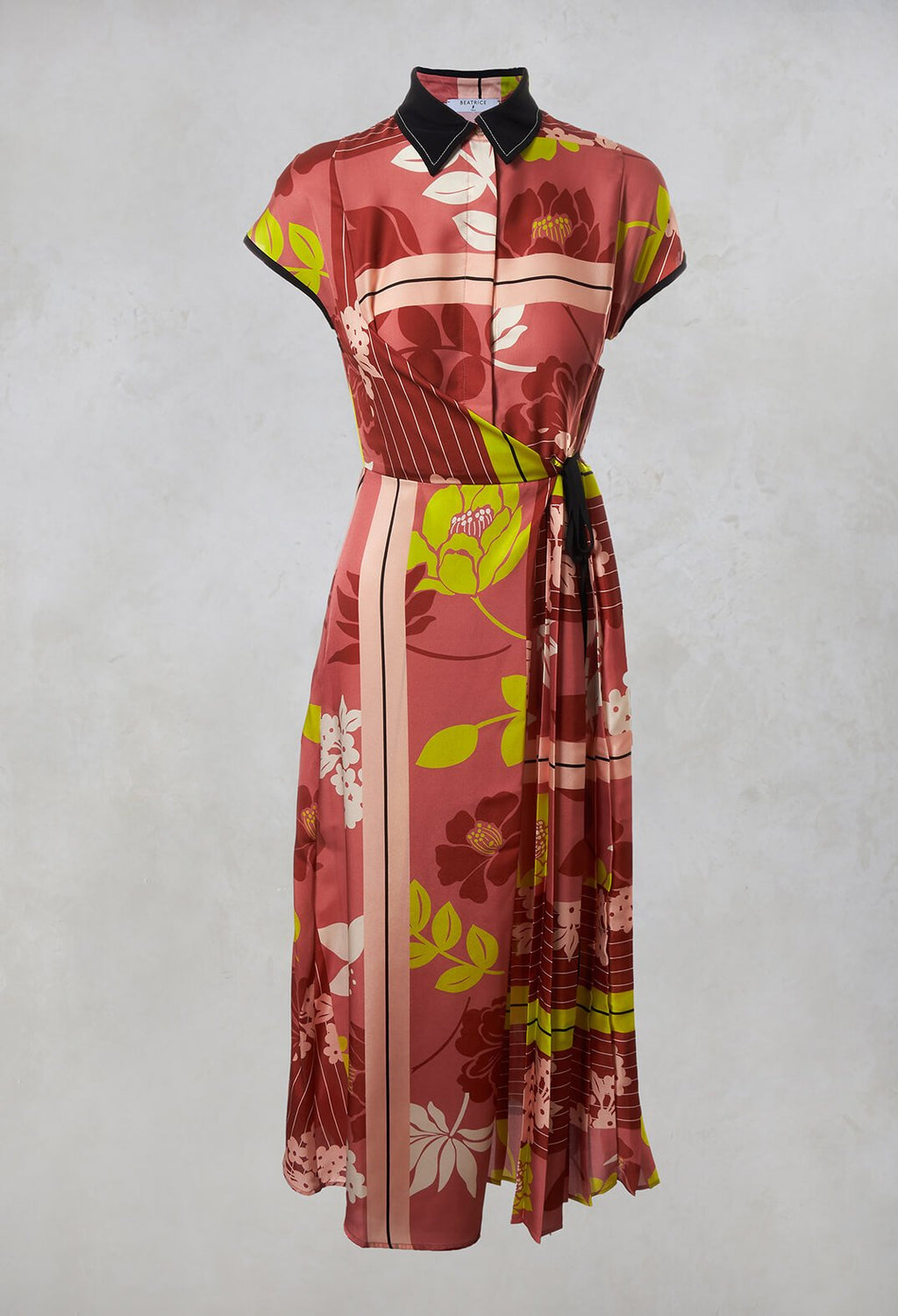Wrap Dress in Pink