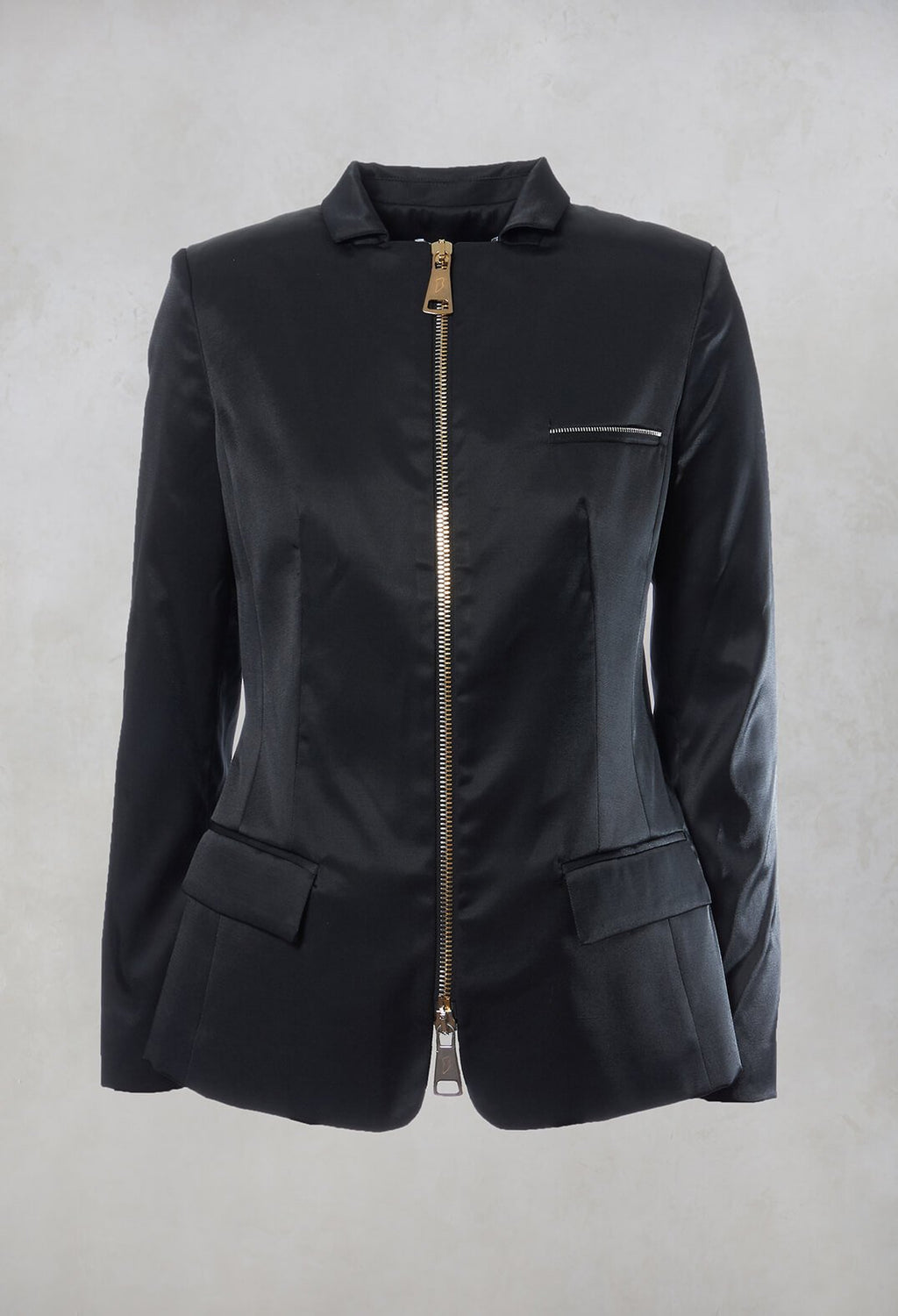 Zipped Jacket in Intrigue