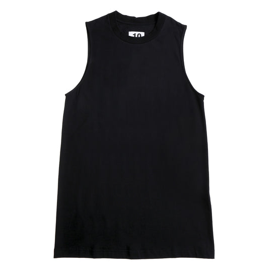 Cut Off Tee Print Black