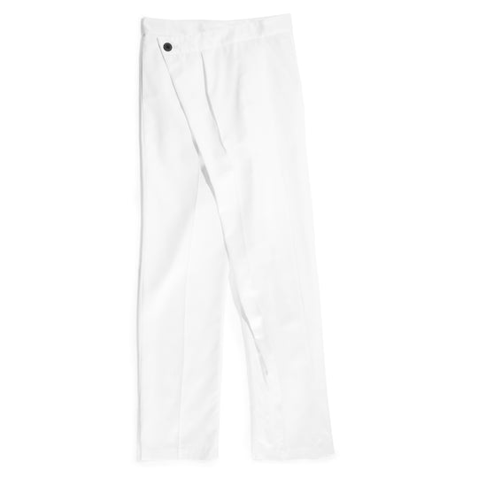 Wrap pant polished cotton