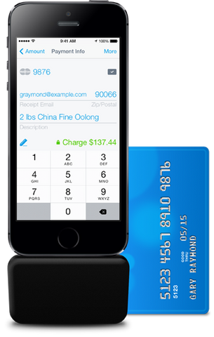 Credit Card Reader for iPhone and iPad (Lightning)