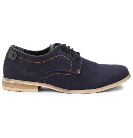 Gwollan  Derby Casual Shoes - Navy Blue