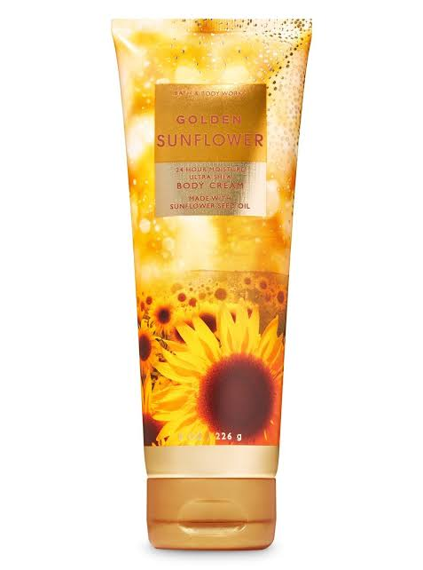 Golden Sunflower   body cream