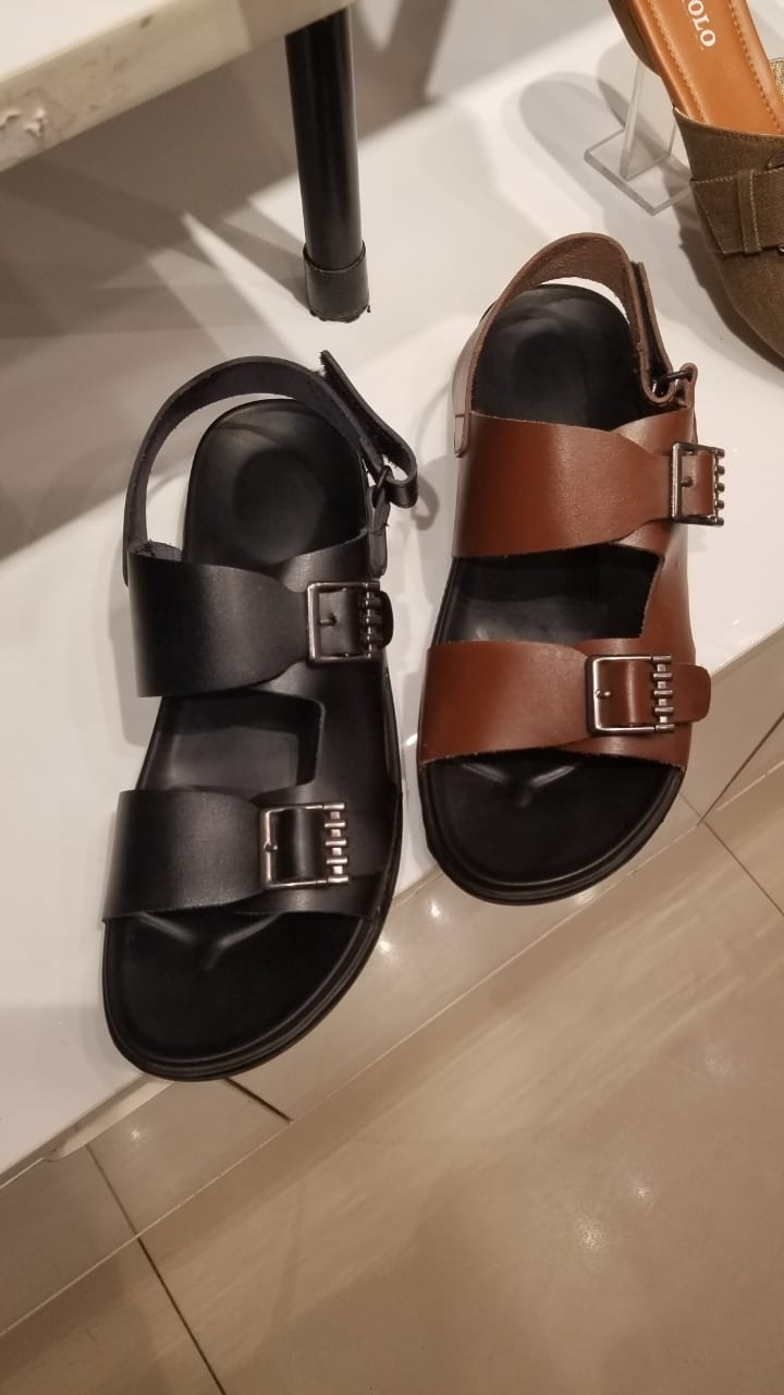 Double Monk Sandals - Ovolo Karachi